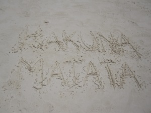 Hakuna Matata-It Means No Worries