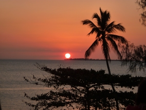 Sunset at The Africa House-Stonetown, Zanzibar