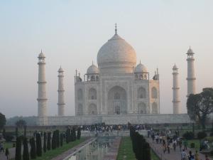 The magnificent splendour of the Taj Mahal