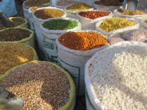 Jaipur's spice market