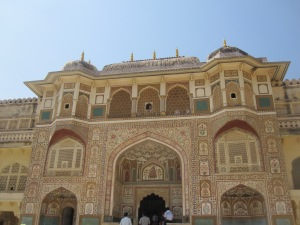 The beauty of Amber Fort