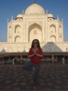 Taj Mahal - just as magnificent as I imagined
