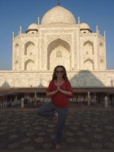 Taj Mahal - just as magnificent as I imagined
