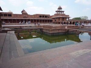 The grand city of Fatephur Sikri