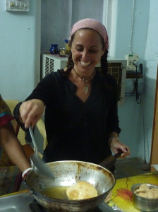 Cooking Class: Trying my hand at poori making