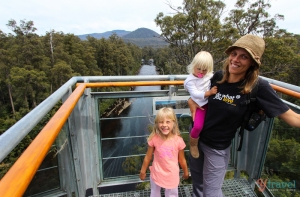 Family fun on Bruny Island