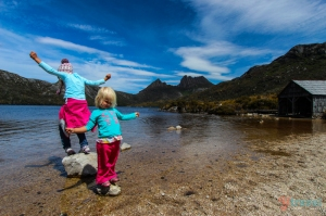 Makepeace family at Cradle Mountain