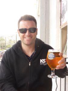 Efes beer in istanbul
