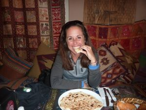 Potato gozleme at Han-Istanbul