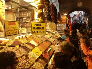 The Old City's Spice Market