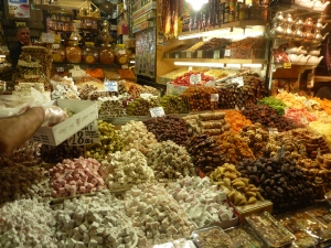 Turkish Delights at the Spice Market