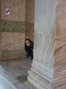 Hagia Sophia's marble magnificence