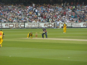 Cricket at the Melbourne Cricket Ground (MCG)