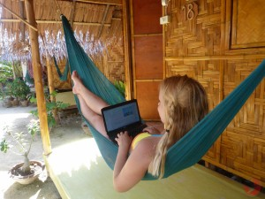 Hammock office in Thailand