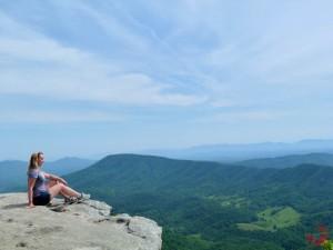 Enjoying the view in Virginia, USA