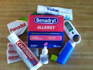 A few of the travel meds