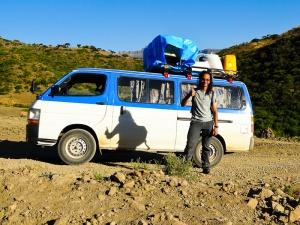 241  Still Happy Even If My Minibus Breaks Down In Rural Ethiopia