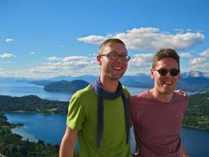 Sam and Zab in Bariloche