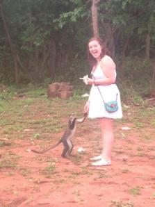 me and monkey