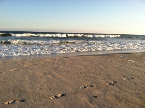 The ebb and flow of the ocean...serenity.