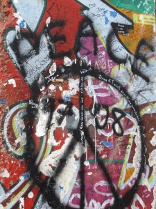A special piece of the Berlin Wall