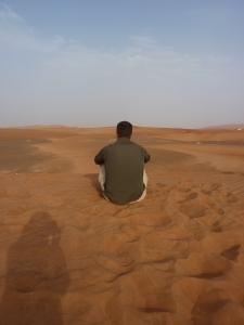 Enjoying the view in Dubai
