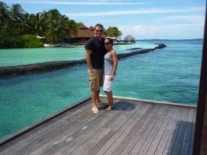 Stacey & Mat @ Kurumba, Maldives