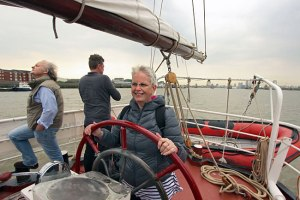 Sailing the Tall Ship Lady Avenel in London