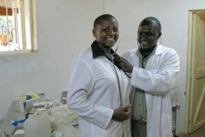 Stethoscopes delivered to Kenya by Pack for a Purpose