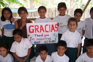 Children of Rio Muchacho Organic Farm in Ecuador