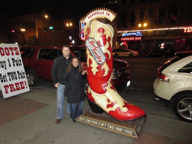 Wandering Nashville's Broadway