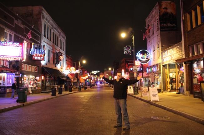 on Beale Street, Memphis