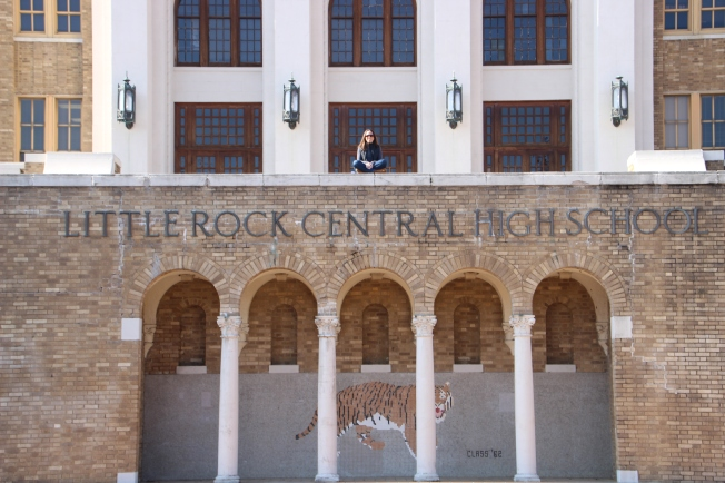 at Central High School, Little Rock, Arkansas