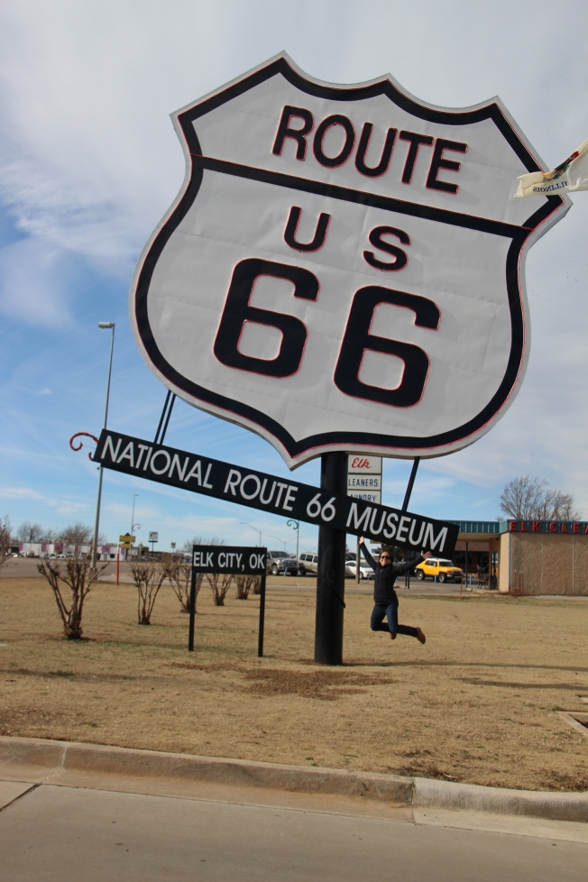 Getting our kicks at the National Route 66 Museum