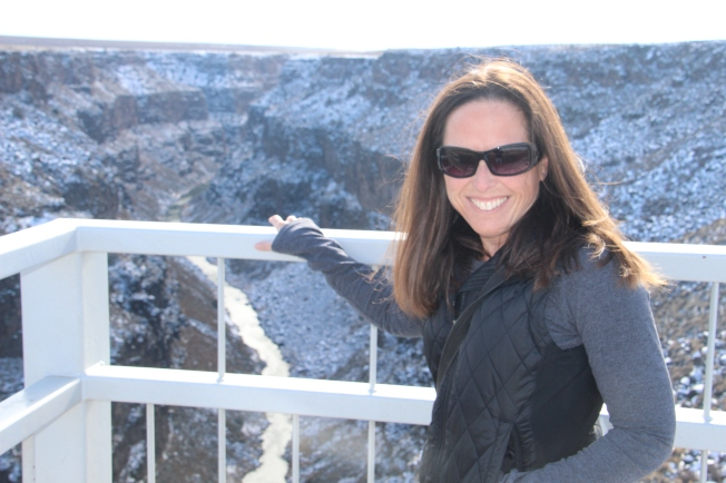 at the Rio Grande Gorge, New Mexico