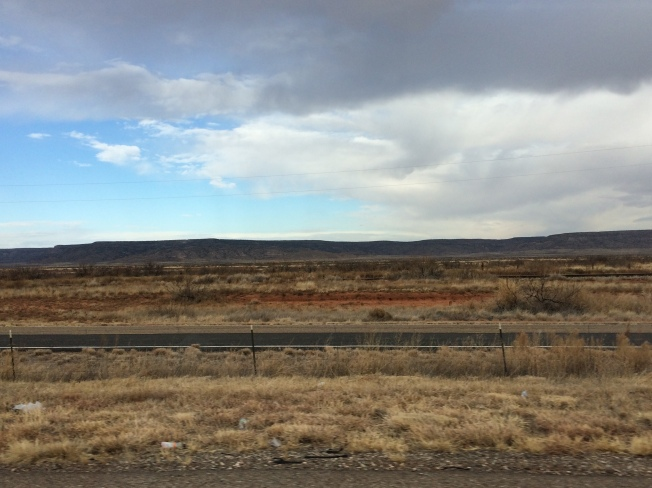 scenery in the northern panhandle of Texas