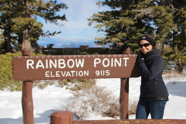 rainbow point, bryce