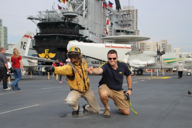 Launching flight-USS Midway
