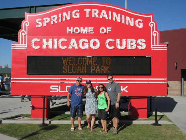 at home of the cubs
