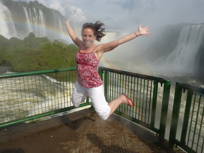 Choose positive...at Iguassu Falls, South America