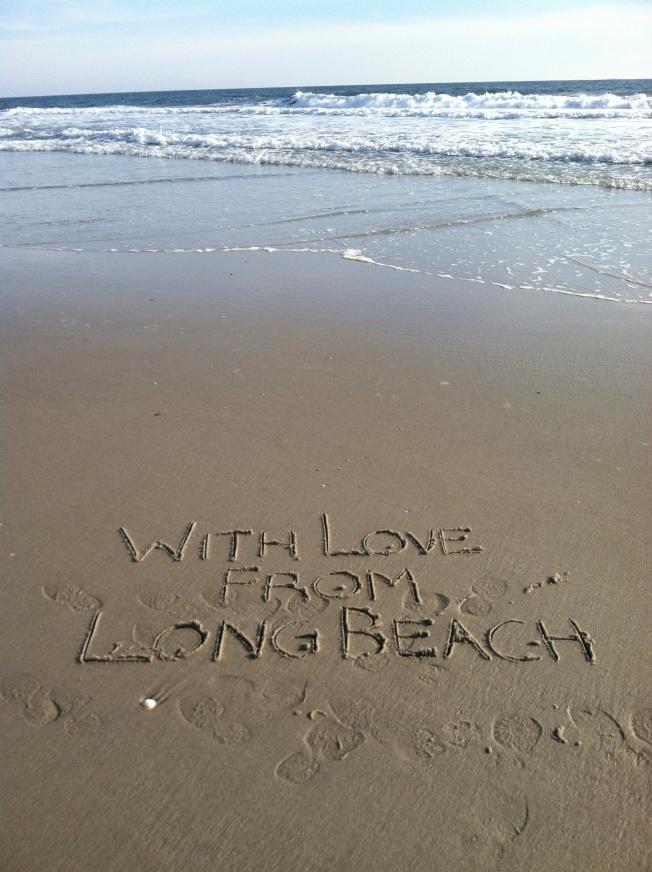 With love from Long Beach, Long Beach, NY