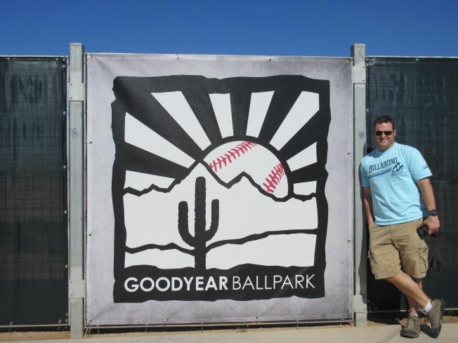 mat at goodyear ballpark