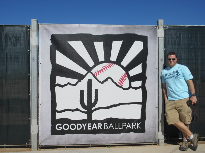 mat at goodyear ballpark