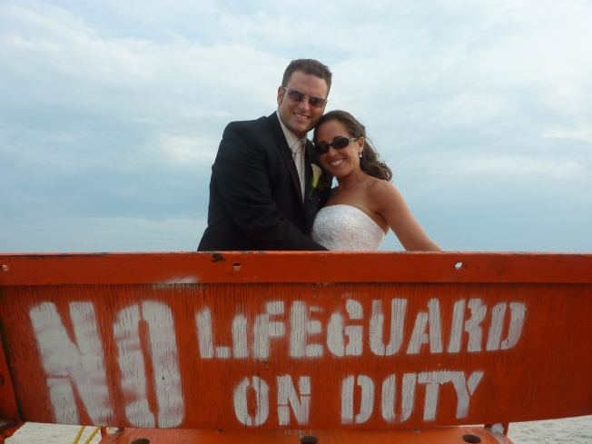 Wedded bliss at Azores