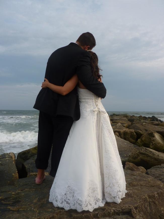 Love on the sand at Azores, Long Beach, NY