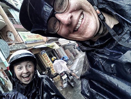 tour, phone, motorbike, saigon