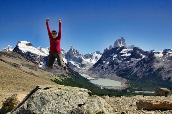 sherry ott 8 - hiking in Patagonia