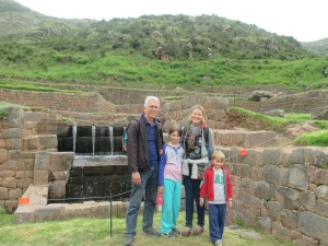 Michelle Tupy and family - the gift of travel