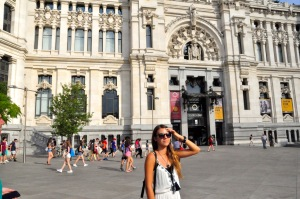 Reka exploring in Madrid