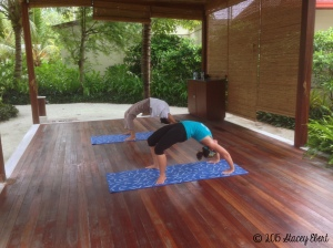 Yoga in the Maldives - the gift of travel